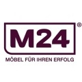 m24 logo final claim deutsch